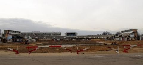 Стадион «Динамо». Снос